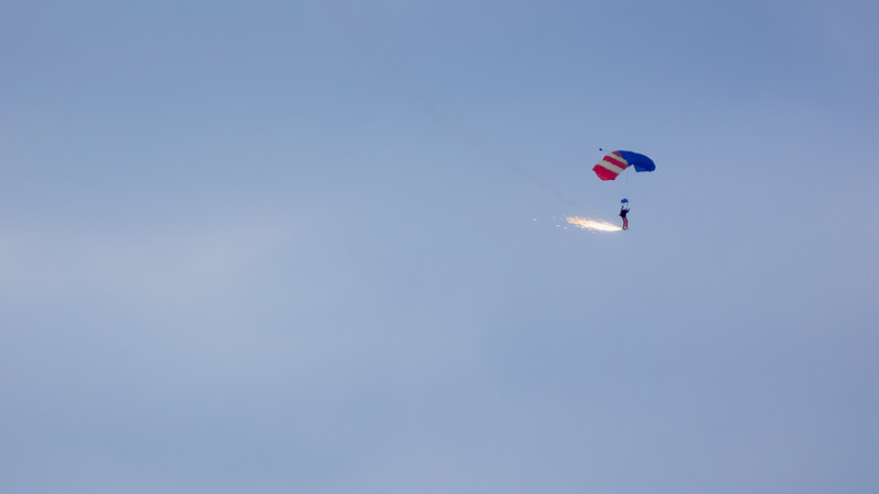 Sky Diver at Balloon Classic