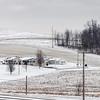 Sugarcreek, Ohio in winter