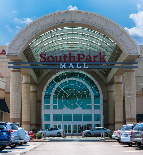 South Park Mall Entrance
