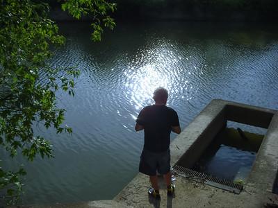 Fishing on Wills Creek
