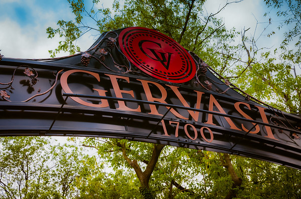Gervasi Vineyard Entrance