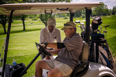 Mike reviews the course with Mo