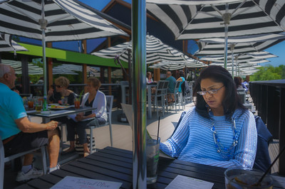 Lunch at The Twisted Olive