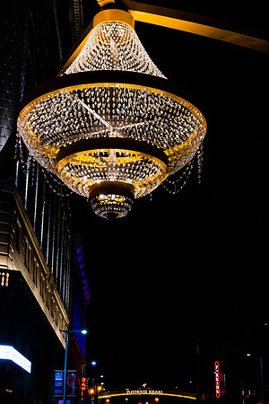 World's Largest Outdoor Chandelier