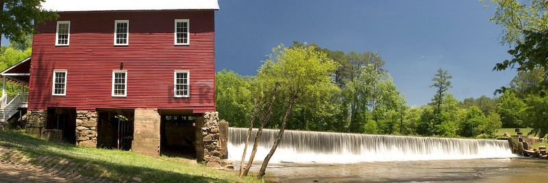 Starr's Mill, Fayette Cty, GA  Featured in the movie 'Sweet Home Alabama' as the glass shop