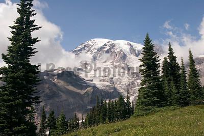 Mt. Ranier in summer