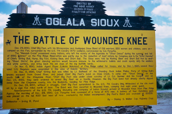 The Battle of Wounded Knee