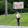 Amish Bike and Sign - Bird In Hand, Pennsylvania