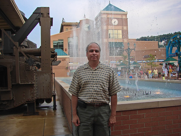 Fountain at Bessemer Court in Station Square.