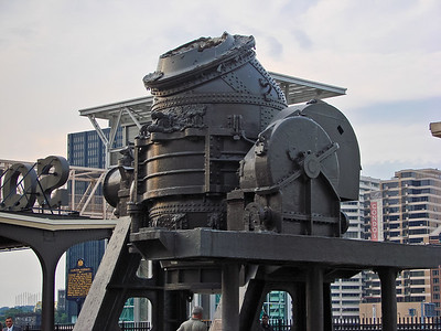 The Bessemer process was the first inexpensive industrial process for the mass-production of steel from molten pig iron.