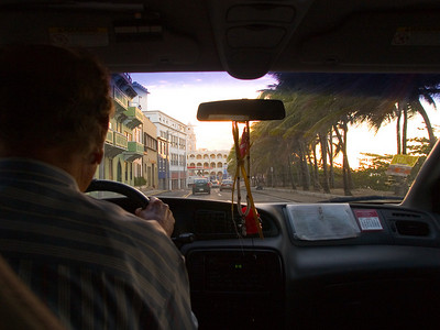 """Taxi Ride"" to Old San Juan Puerto Rico"