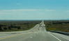 Endless straight roads in New Mexico (going to Carlsbad Caverns)