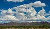 Beautiful clouds in Arizona.