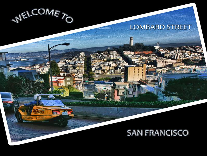 Lombard POSTCARD