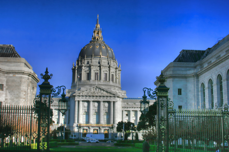 City Hall in hdr
