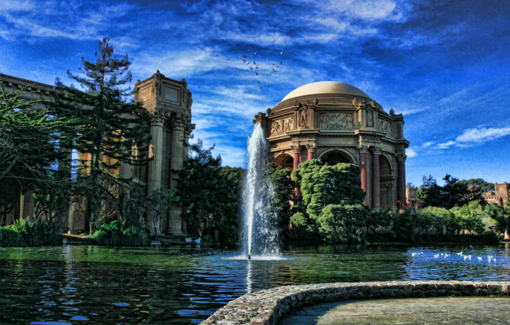 HDR Palace of fine arts