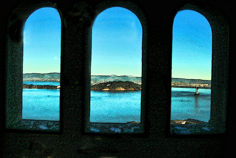 coit tower windows enhanced