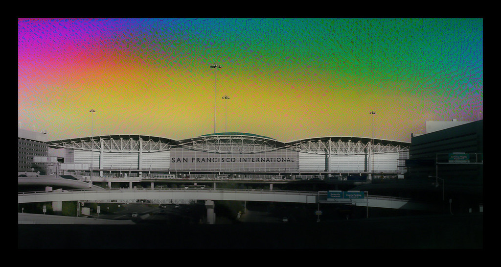 colored sfo black frame