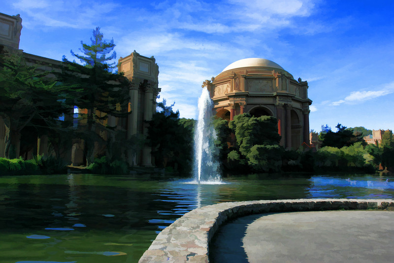 Painted Palace of fine arts