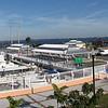 Panorama of Laishley Park Marina, Punta Gorda, Fl