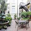 Courtyard of Eliza Thompson House.