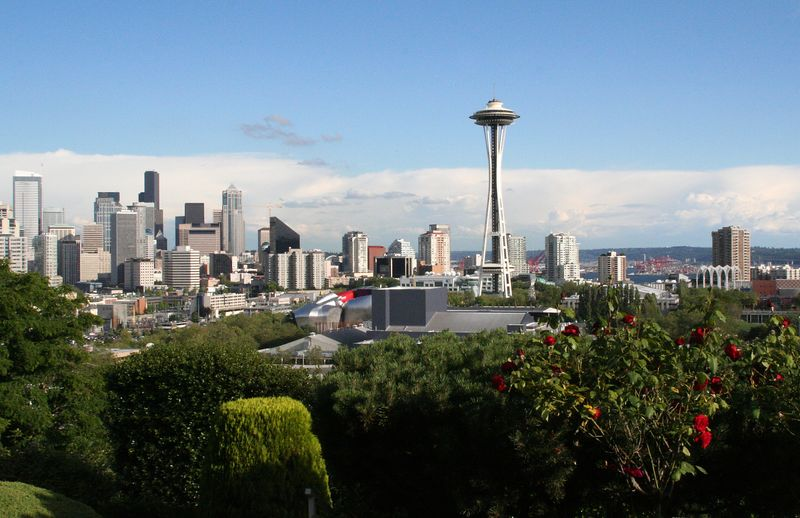 View of downtown from Upper Queen Anne.