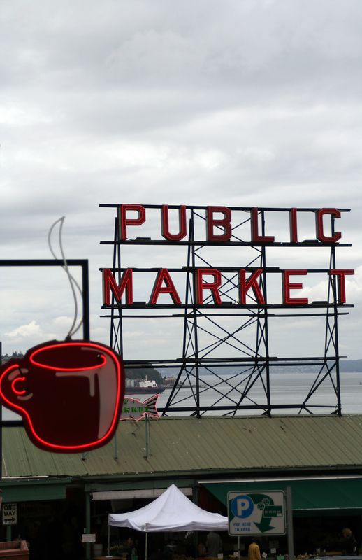 Pikes market.