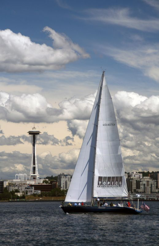 Sailing in Seattle. Anybody?