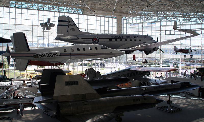 Boeing field Aviation museum.