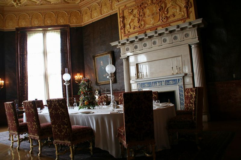 the casual dining room