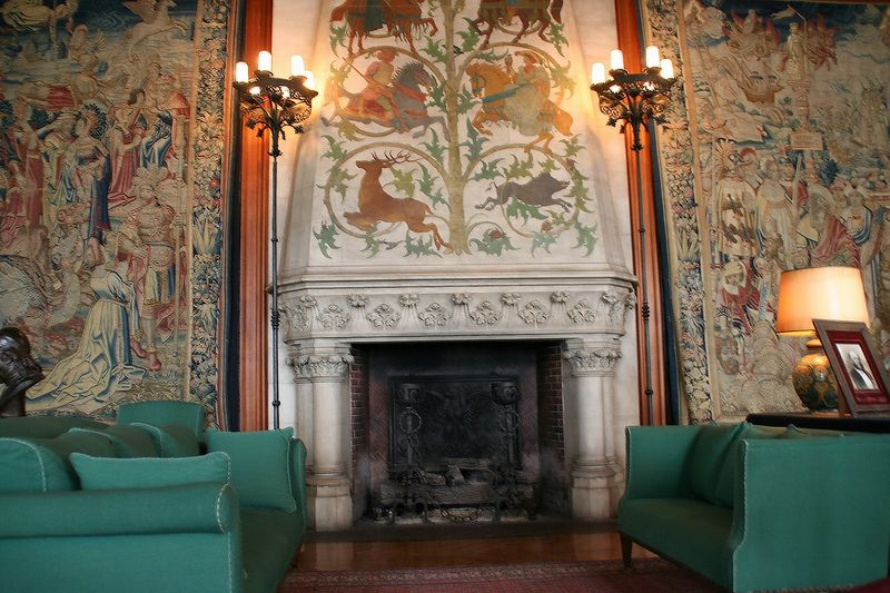there are over 60 fireplaces in Biltmore