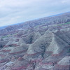 Still airborne in the Bell helicopter, the Badlands are a sight to see!