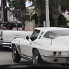 Classic cars on the streets of Daytona Beach.