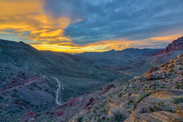 Red Pass, Grapevine Mountains