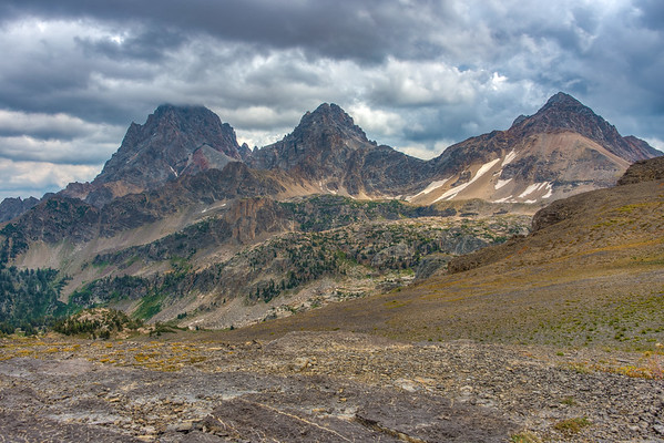 Hurricane Pass & The Tetons