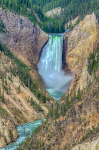 The Grand Canyon of the Yellowstone & Yellowstone Falls