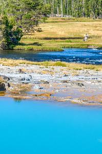Wall Pool & Firehole River