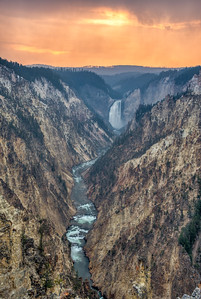 Lower Yellowstone Falls & the Grand Canyon of the Yellowstone