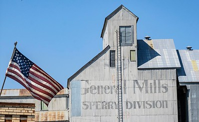 There are some big guys here, like General Mills. Our flag still proudly flies.