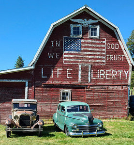 Palouse farmers are independent and patriotic!
