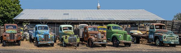 Sprague, WA: old truck field