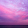 Magenta Sunset Over Atlantic