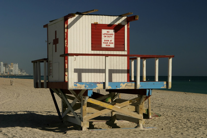 Lifeguard Station Close-Up