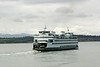 A Washington State Ferry on a route in the San Juan Islands. These ferries carry both passengers and cars between the mainland and the islands.