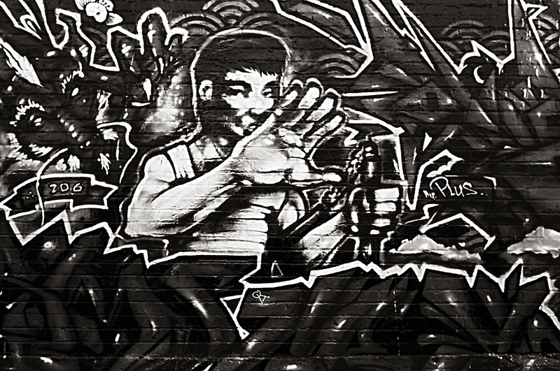 Urban Street Hero Graffiti