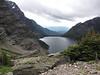 To Sperry Chalet via the Gunsight Pass Trail:  Lake Ellen Wilson from Gunsight Pass