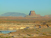 Tower Butte and Navajo Mountain from Antelope Point