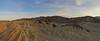 Evening light on the Badlands