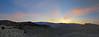 Sunset from Zabriskie Point
