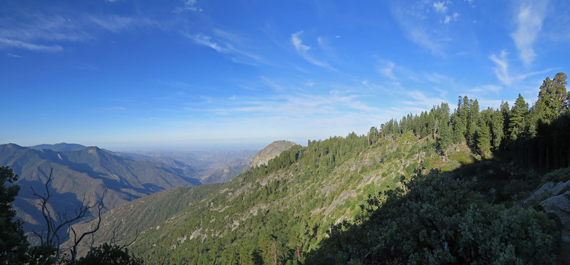 High Sierra Trail to Bearpaw.